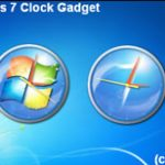 Gadget – Reloj  para Windows 7