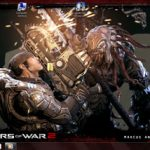 "Tema ""Gears of War 2 "" para Windows 7"