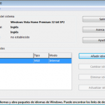 Como cambiar el idioma a Windows 7 Home con Vistalizator