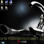 Akrapovic, tema oficial para Windows 7