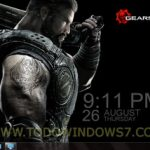 Tema oficial del juego Gears of war 3  para Windows7