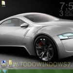 Tema de coches de la marca Audi para Windows7