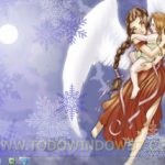 Descarga Angeles de nieve, tema oficial para Windows 7
