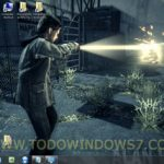 Descarga el tema oficial del juego Alan Wake, para Windows 7