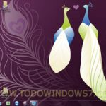 Descarga el tema oficial para Windows 7, Lovebirds