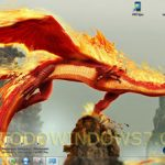 Descarga el tema Dragones, fondos de pantalla para Windows 7