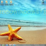 "Descarga la ""estrella de mar"", tema para windows 7"