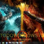 Descarga el tema Mortal Kombat para Windows 7
