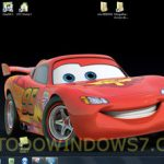 Descarga gratis el tema de la película Cars2 para Windows 7