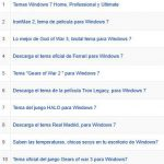 Los 10 temas para  Windows 7 más vistos de todowindows7.com