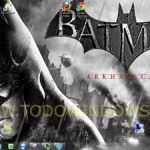 Descarga el tema del juego  Batman Arkham City  para Windows 7