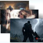 Descarga el tema oficial de  Gears of war 3 – diseños de fans   para Windows 7