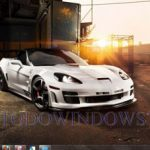 Descarga gratis el tema de coches Corvette para Windows 7
