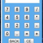 Descarga el gadget Calculadora para Windows7