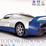 Descarga el tema de coches Maserati MC12 para Windows 7