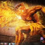 Descarga el tema Street Fighter X Tekken para Windows 7