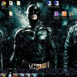 Espectacular tema de la película Batman Dark Knight Rises, acción a raudales en tu escritorio de Windows7