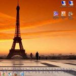 Descarga el tema Torre Eiffel para Windows 7
