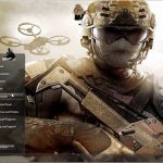 Descarga el tema del juego  Call of duty, Black ops 2 para Windows 7