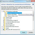 Truco de Windows 7: desinstala el Reproductor de Windows Media
