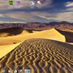 Dunas del desierto, espectacular tema para Windows7