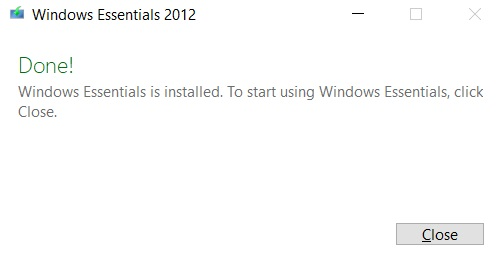 Instalar Windows Essentials en Windows 10 4