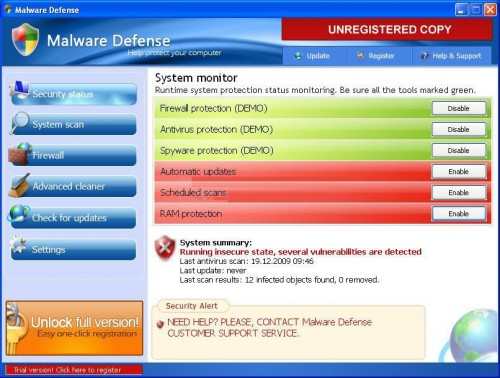 malware windows