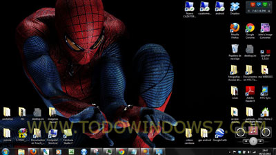 amazing spiderman tema windows 7