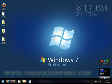 gadget windows 7 reloj digital grande