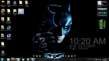 tema windows7 batma el caballero oscuro