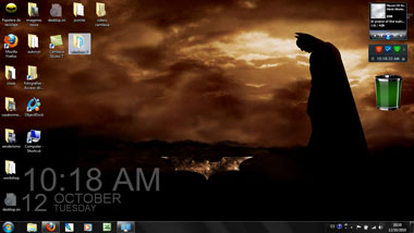 batman windows7 tema