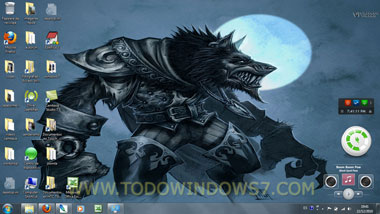 world of warcraft tema windows 7
