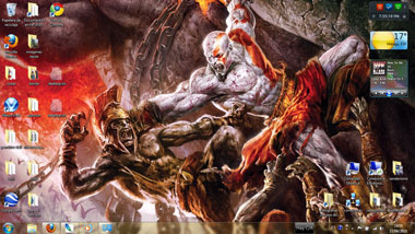 god of war3 tema windows 7