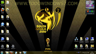 mundial futbol 2010 sudafrica tema windows 7