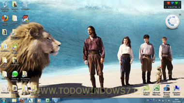 narnia tema windows 7