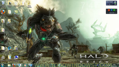 tema halo reach windows7