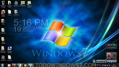 windows7 tema fantastico