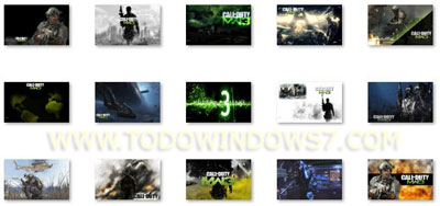 call of duty modern warfare 3 tema windows 7