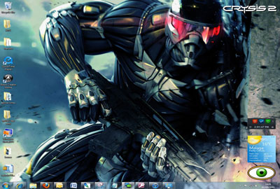 tema del juego Crysis 2 tema windows 7