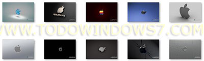 apple tema windows 7