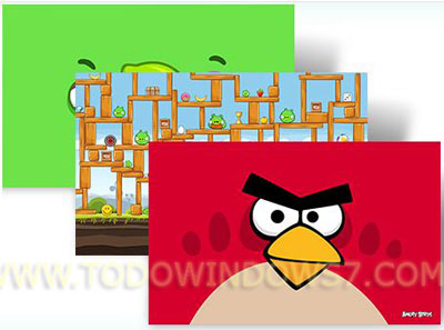 angry birds tema windows 7