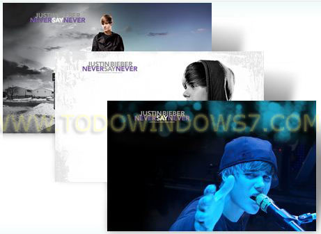 justin bieber tema windows 7