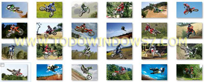 motocross tema windows 7