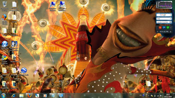 Tema Theme  Coca cola para Windows 7