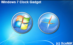 gadget para windows 7 reloj