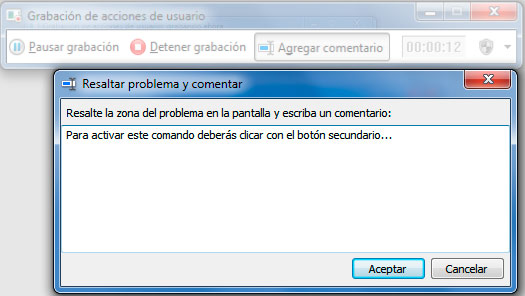 como grabar la pantalla de mi pc windows 7