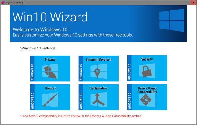 Actualiza a Windows 10 de forma segura con Win10Wizard